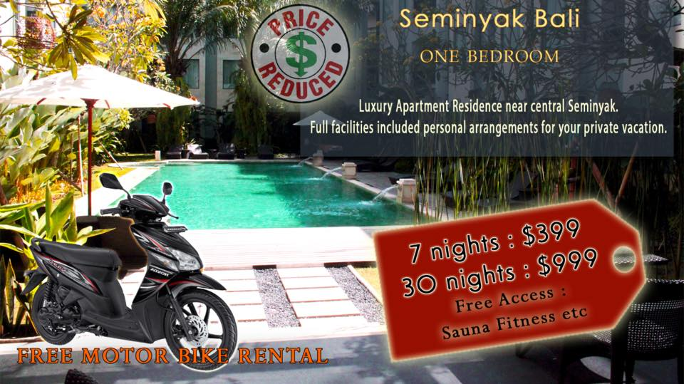 Umalas Residence Apartment Promotion