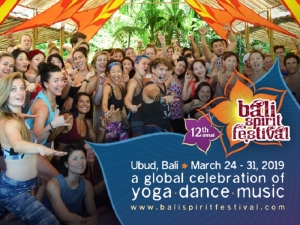 Bali Spirit Festival,  7 days full of daytime activities and workshops  March 24 - 31 2019