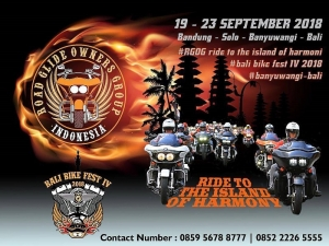 Bali Bike Festival at Sanur's Mertasari Beach, September 21-22 2018