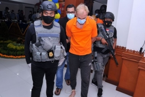 Escaped Russian fugitive arrested in Bali