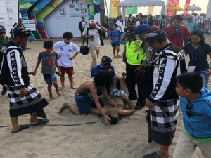 3 domestic tourists drowned at Nusa Penida and at Petitenget during the festival