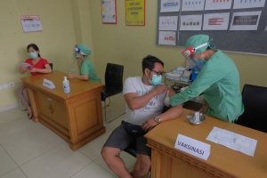 Bali will soon vaccinate 2,6 million people
