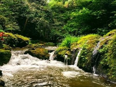 Krisik, New waterfall destination with cave and spring located in Tembuku-bangli