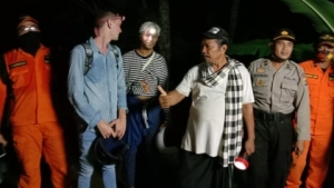 Two American tourists lost in Bali forest