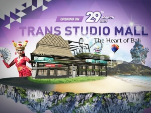 Grand opening shopping movie & attracting center Trans studio Mall Bali, March 29 th 2019.