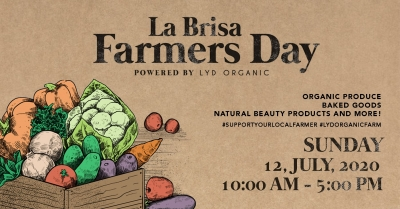 La Brisa Farmers Day Echo Beach Canggu on Sunday July 12