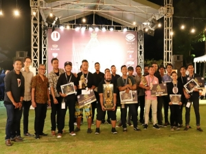 Competition of Bali's best bartenders at the Arak Bali festival in Sanur