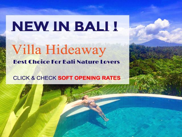 Promotion Villa Hideaway