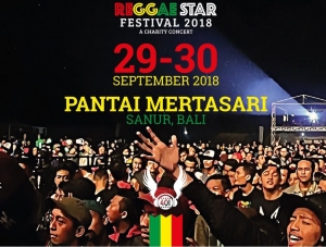 Bali Reggae Star Festival on Mertasari Beach - Sanur Sept 29 - 30 - 2018
