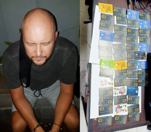 Estonian ATM scammer arrested in Denpasar