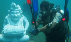 New underwater diving spot in Nusa Dua