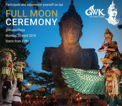 Full Moon Ceremony GWK Cultural Park April 30 th 2018