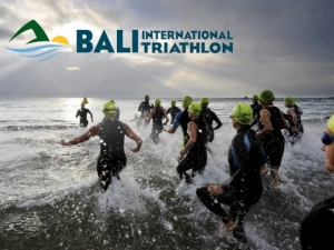 Elevent Edition of the Bali International Triathlon at Mertasari Beach , Sanur  October 21 2018