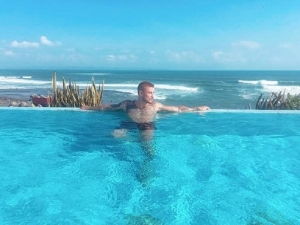 Male model convicted for drugs charges fled Briton taunting police by posting holiday pics of luxury lifestyle in Bali