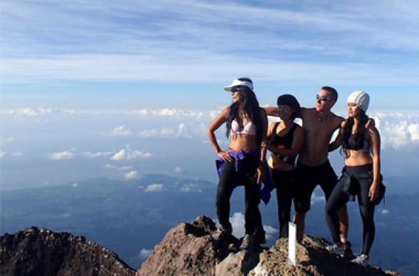 Bali Agung Mountain Climbing Adventures Tour