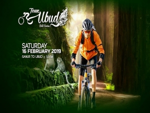 Garuda Indonesia organizing Cycling Event from Sanur to Ubud, February 16 2019.