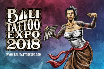 Bali Tattoo Expo  at the Balinese Creative Industry Center Denpasar ,  May 18/20 2018
