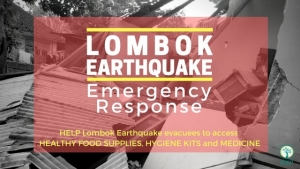 Unprecedented charity campaigns of Bali's business and local communities after third strong earthquake on Gili's and Lombok islands